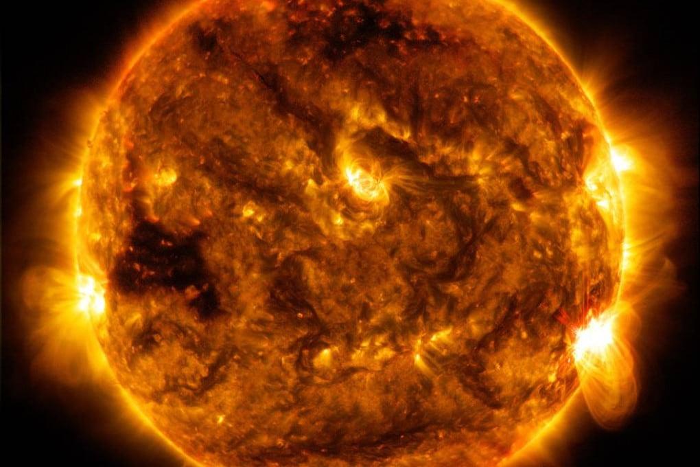 Il Sole visto dal Solar Dynamics Observatory (SDO)