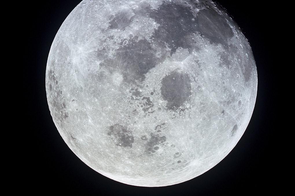 La Luna fotografata dall'Apollo 11