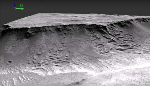 Fiume su Marte