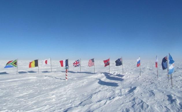 Antartide: Polo Sud cerimoniale
