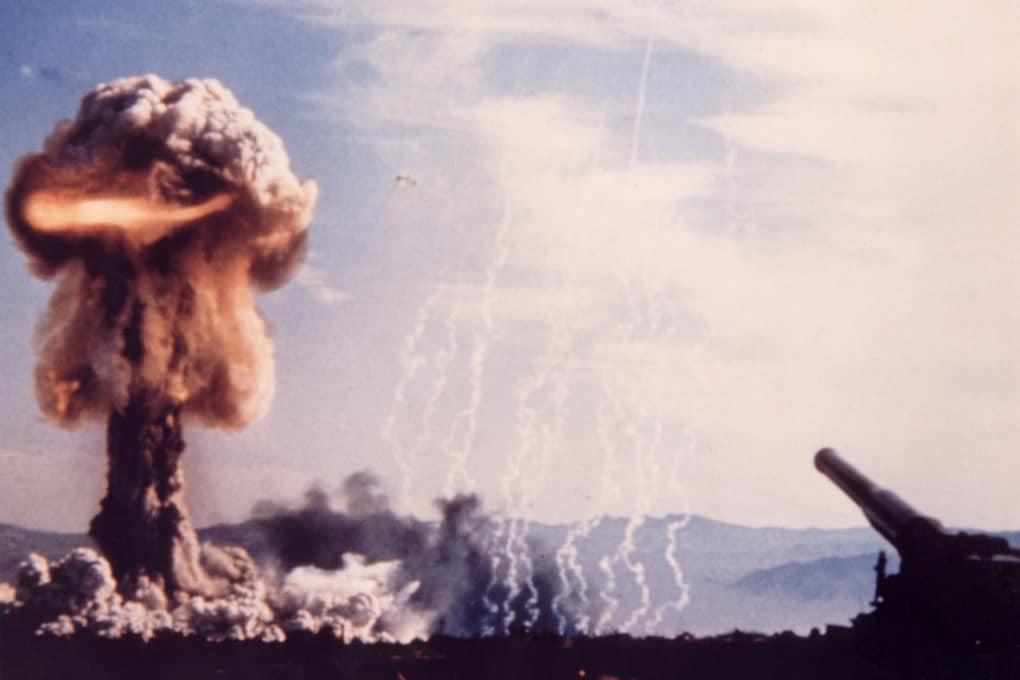 Test nucleare nel Nevada