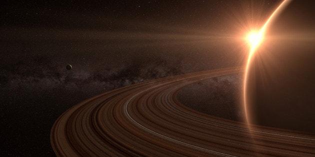 La velocità di fuga di Titano, luna di Saturno
