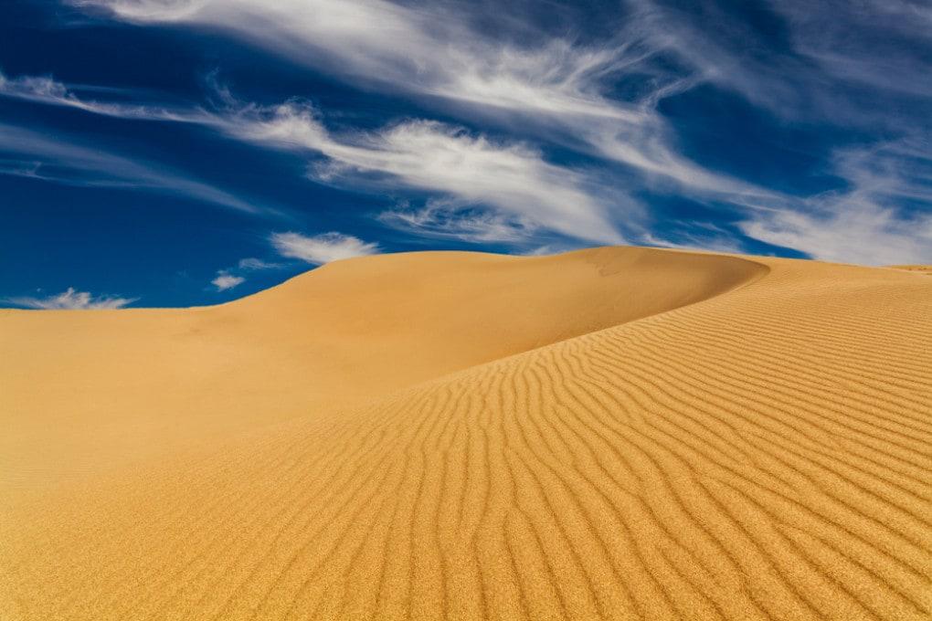 Una nube di sabbia del Sahara in viaggio verso gli USA
