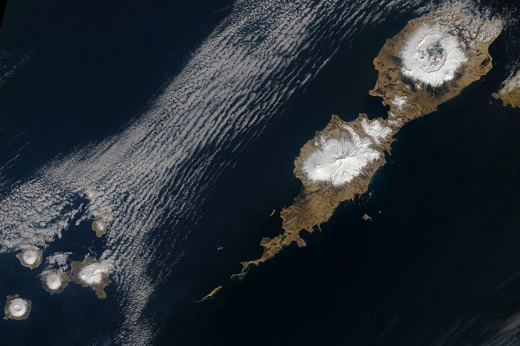 Un vulcano dell'Alaska fu all'origine del