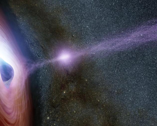 Il buco nero più affamato dell'Universo