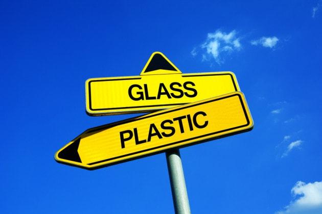 Plastica o vetro?