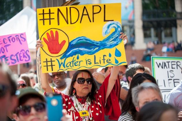 Proteste contro il Dakota Access Pipeline