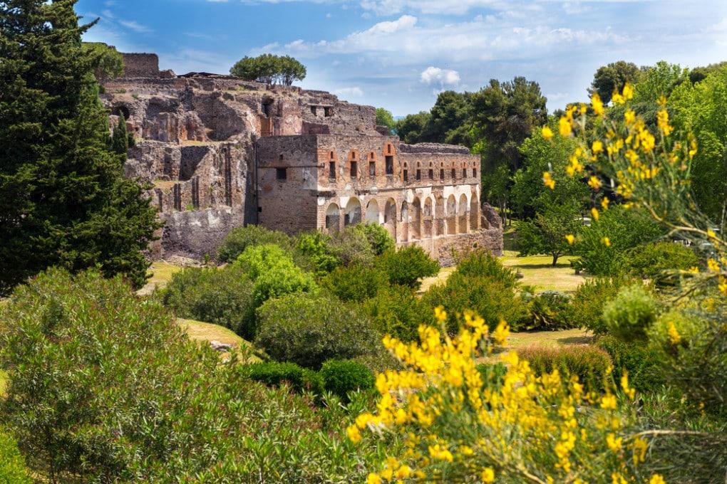 Gli edifici di Pompei costruiti dai romani