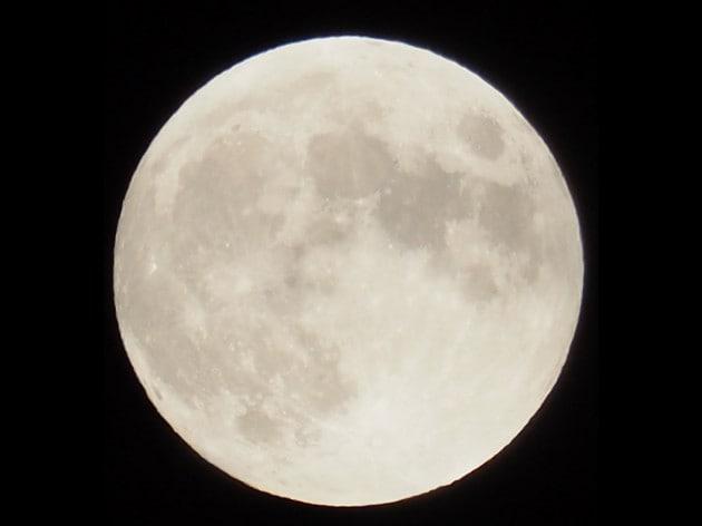 4 luglio 2020, Luna piena
