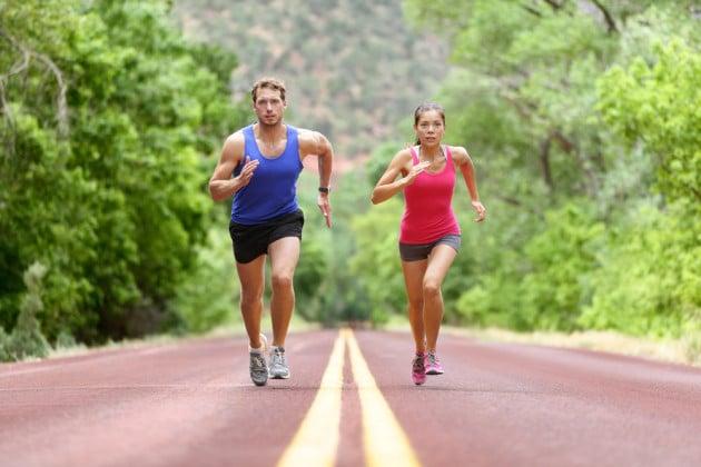Jogging: chi vince in resistenza tra l'uomo e la donna?