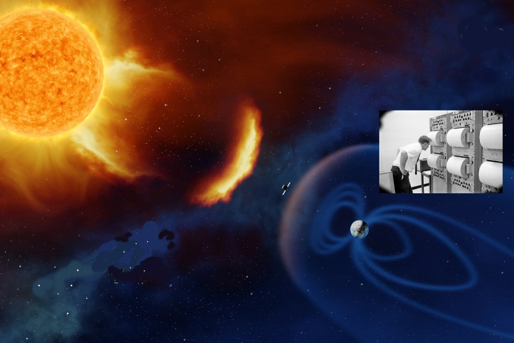 Eruzioni solari e terremoti