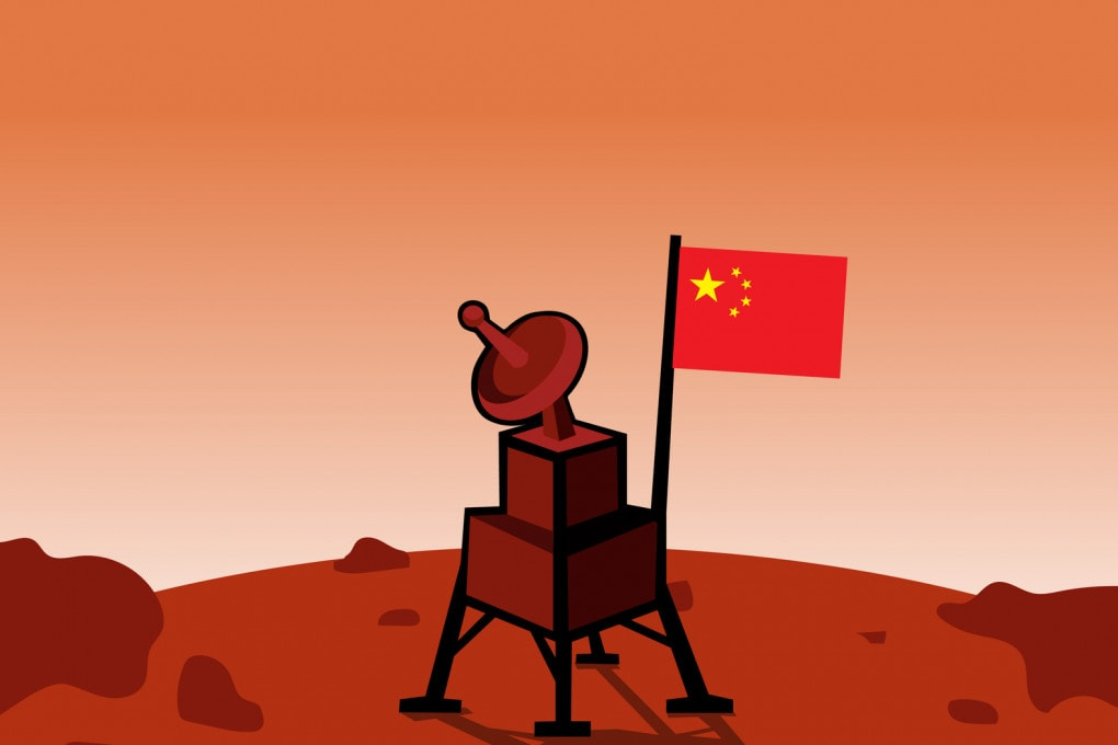 La Cina su Marte