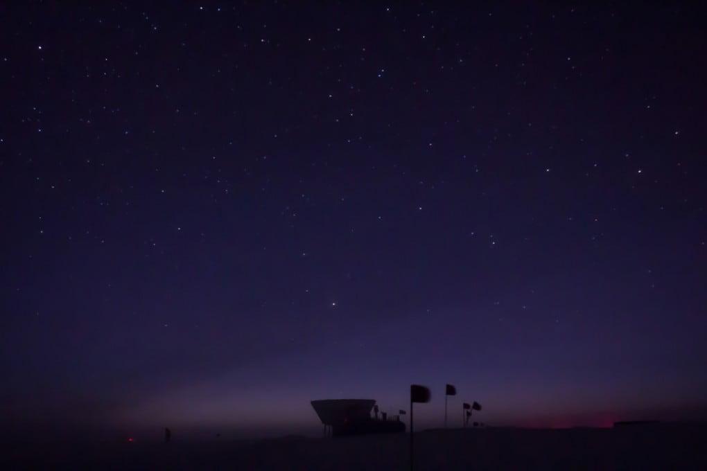 Il telescopio Keck al Polo Sud
