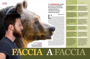 Convivenza orso e uomo Focus 335