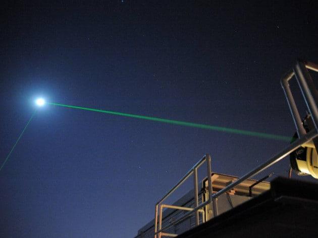 Un segnale laser inviato alla Luna è (finalmente) tornato indietro