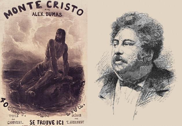 Alexandre Dumas padre, autore del Conte di Monte-Cristo