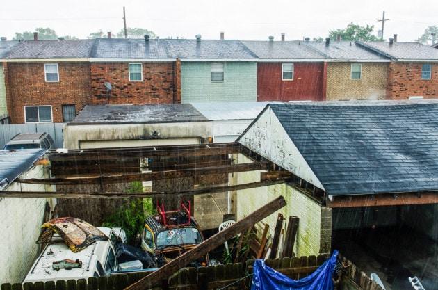 Quartiere povero New Orleans