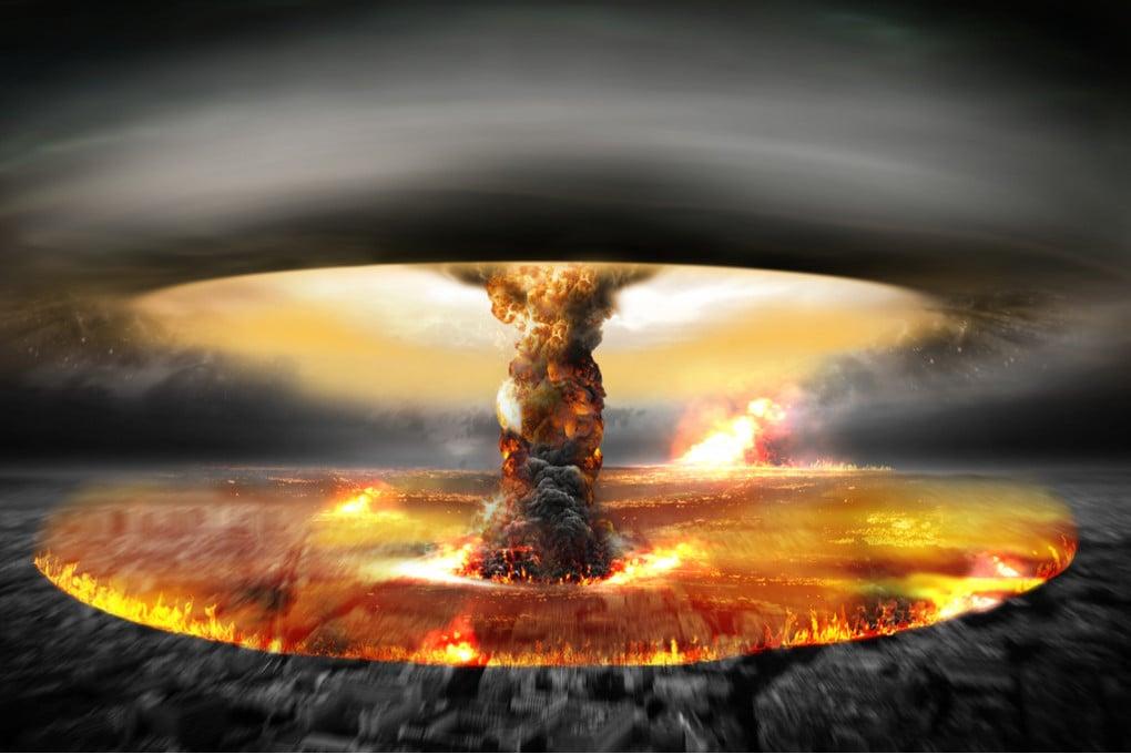 Esplosione atomica (illustrazione)