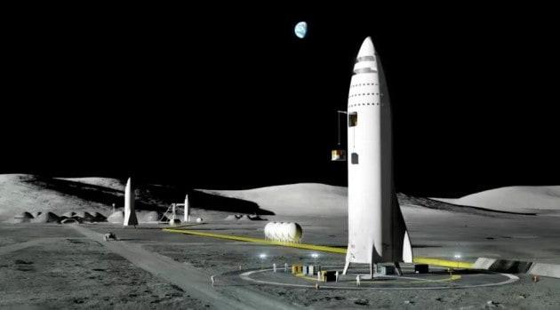 Sarà SpaceX a riportare gli USA sulla Luna?