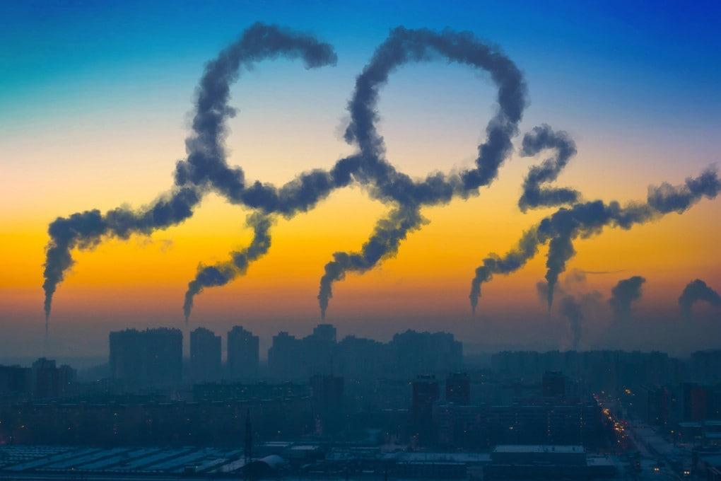 inquinamento dell'aria, gas serra, emissioni di CO2