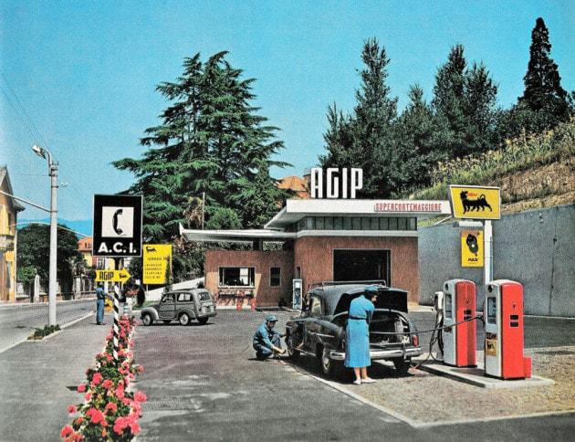 Com'era fare benzina negli anni '50?