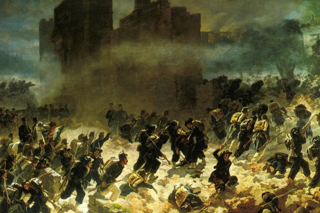 La breccia di Porta Pia (20 settembre 1870)