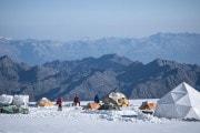 Il drammatico stato dei ghiacciai alpini