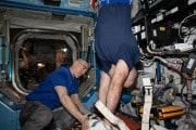 Stazione spaziale: la perdita d'aria è nel modulo russo
