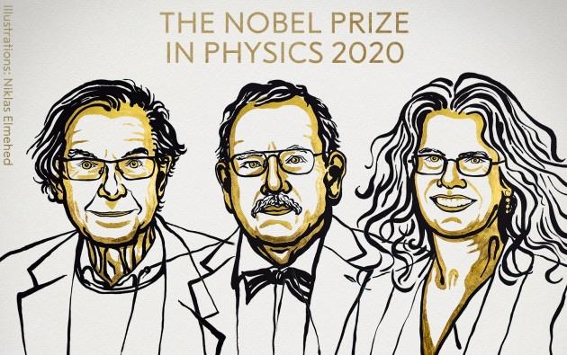 Nobel Fisica 2020 a tre pionieri degli studi sui buchi neri
