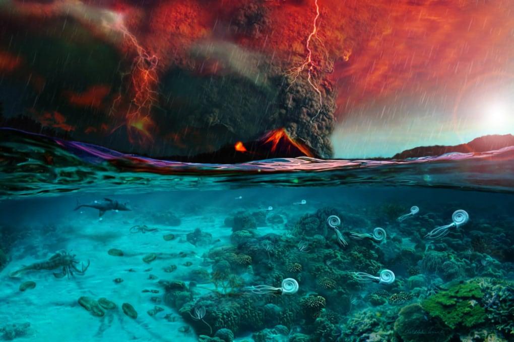 Gli eventi che innescarono l'estinzione di massa del Permiano-Triassico e i loro effetti sulla vita.
