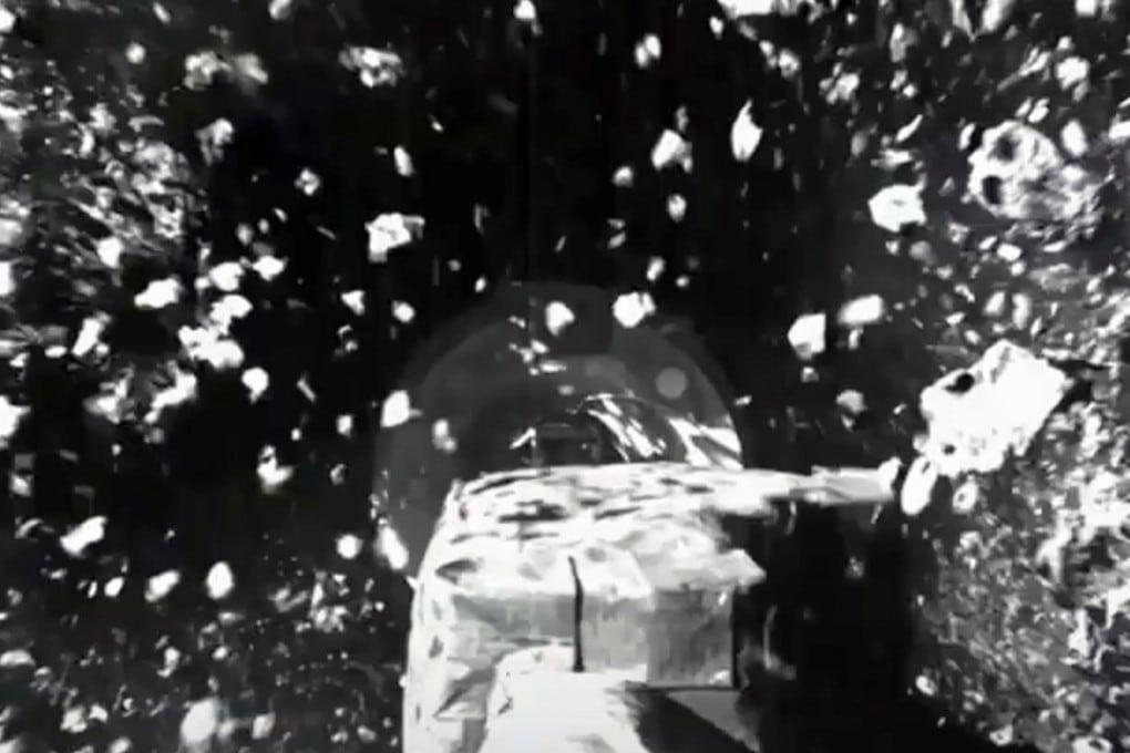 OSIRIS-REx ha fatto il pieno di regolite su Bennu