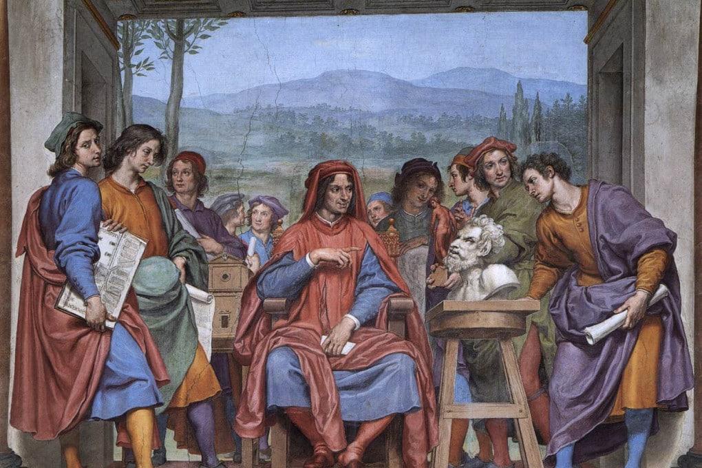 Lorenzo de' Medici tra gli artisti