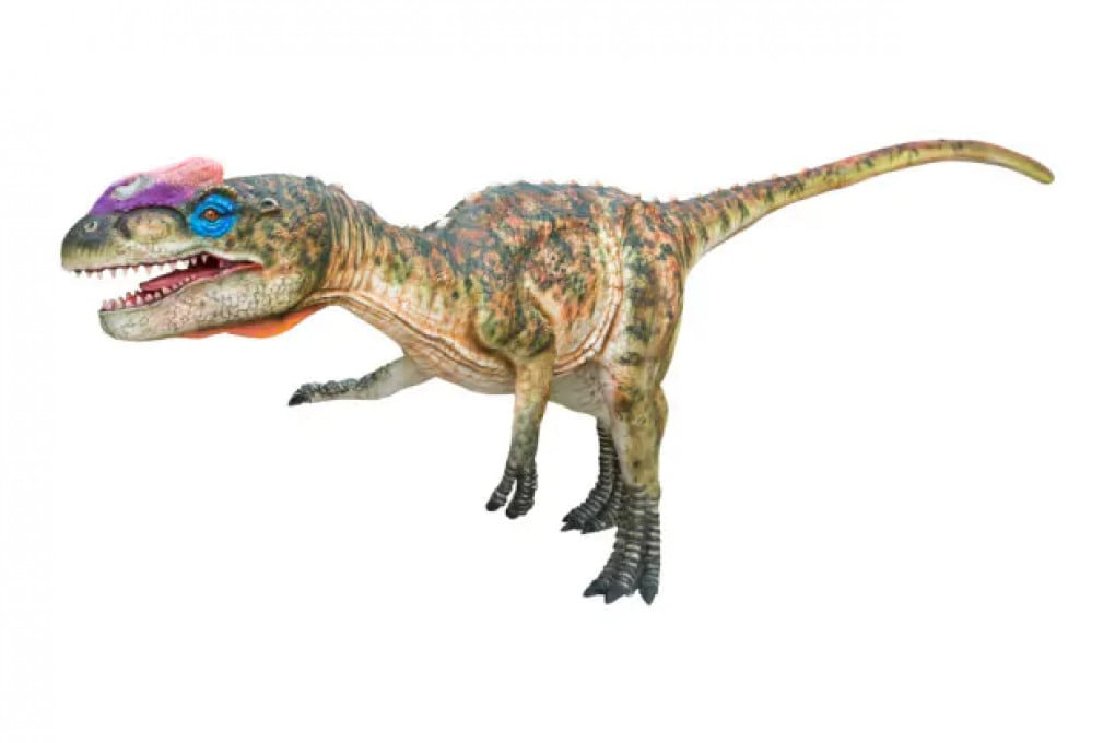 Dinosauri (illustrazione): uno zupaysauro (Zupaysaurus rougieri), un carnivoro.