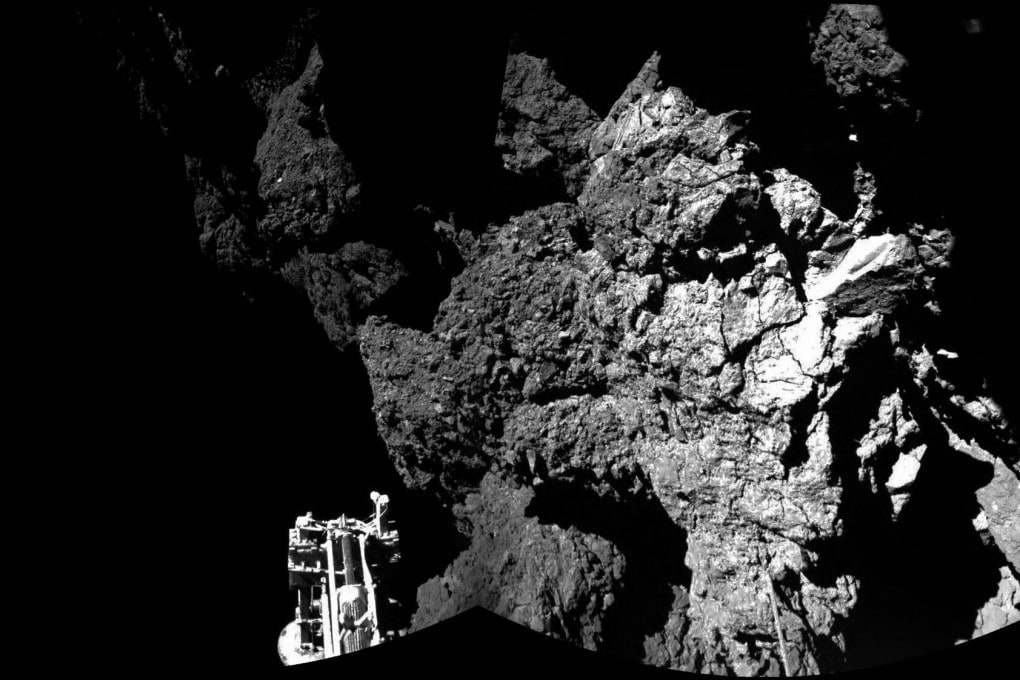 Philae sulla cometa Churyumov-Gerasimenko