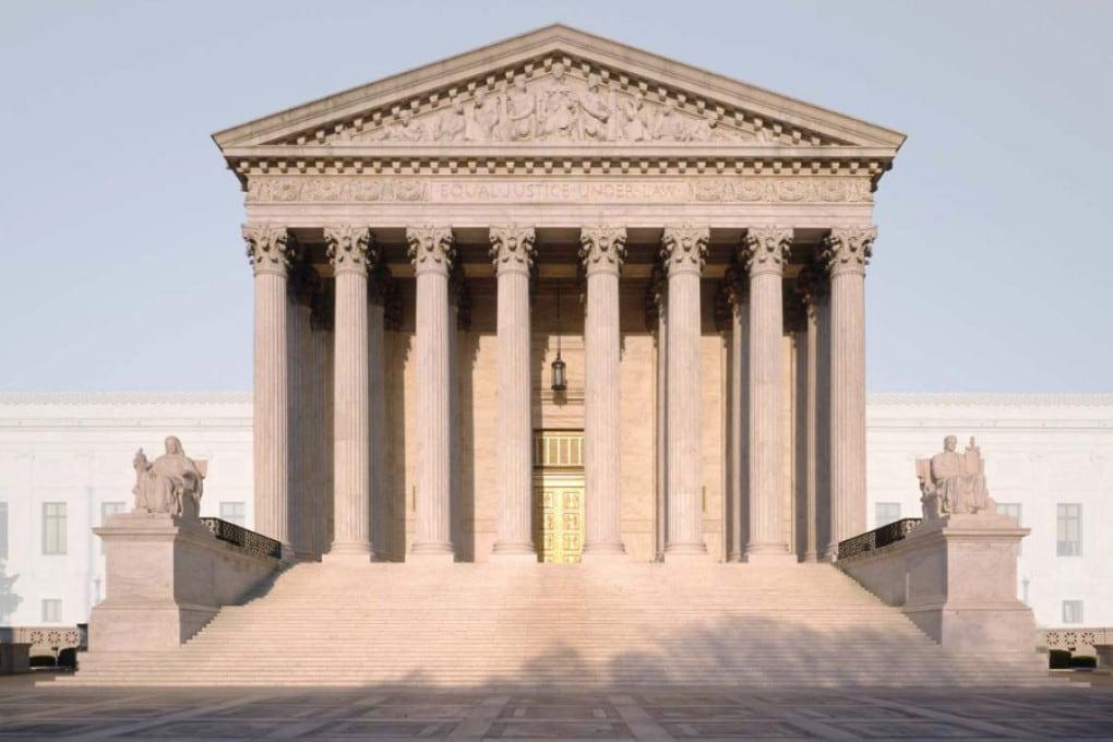 La sede della Corte suprema degli Stati Uniti