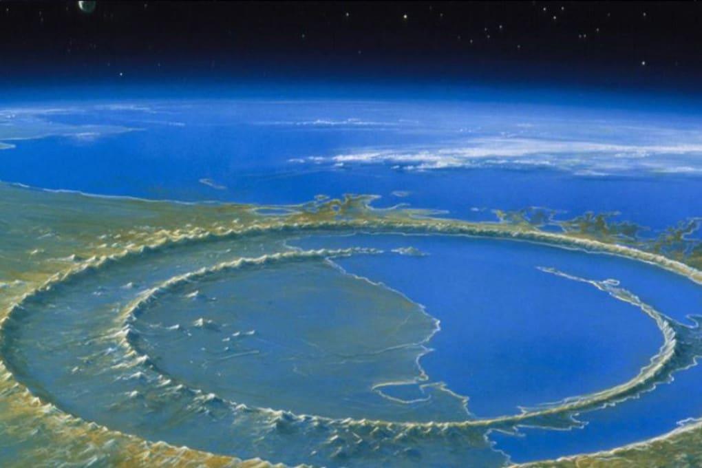 Asteroidi, cratere di Chicxulub (Yucatan, Messico)