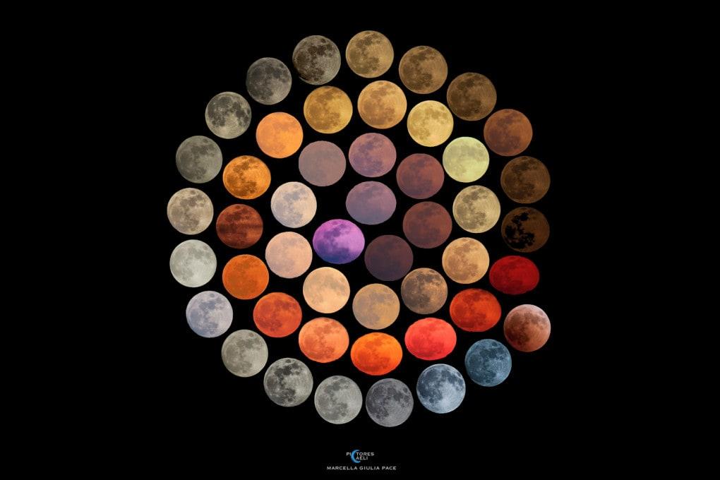 Tutti i colori della Luna (NASA, APOD)
