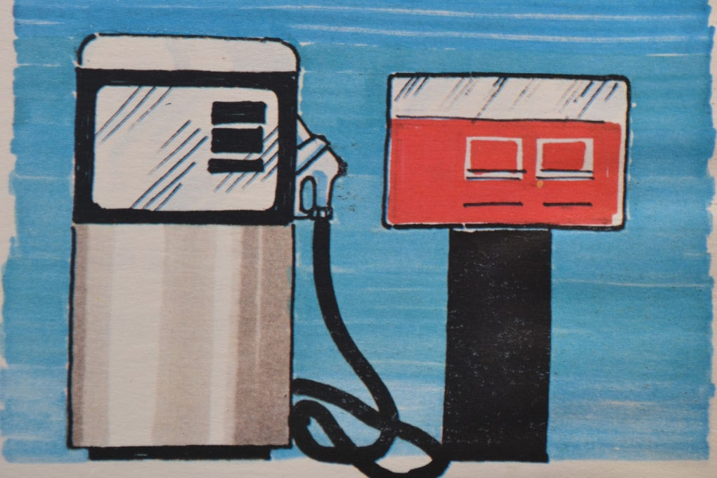 Storia dell'automobile: i robot della benzina.