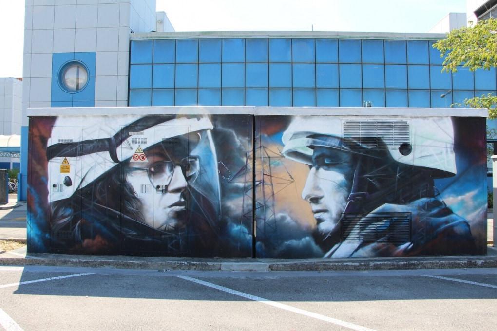 Street Art, il progetto di E-Distribuzione per un territorio più sostenibile e creativo