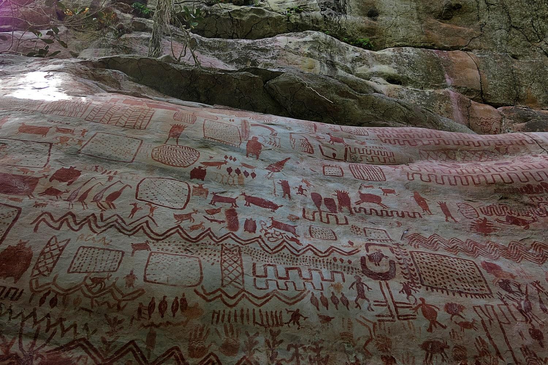 La cappella sistina rupestre in Amazzonia