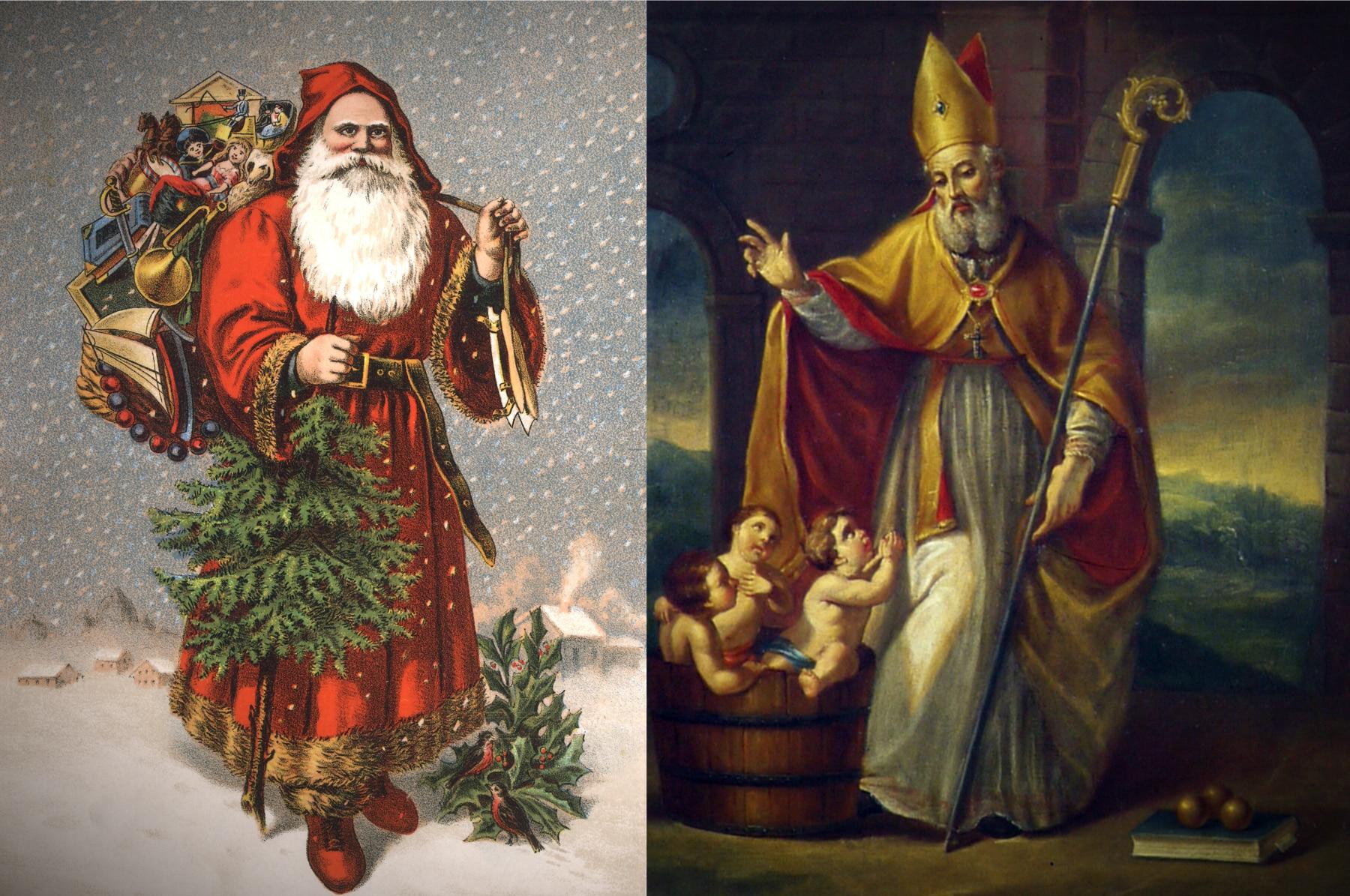Babbo Natale Wikipedia.San Nicola E La Leggenda Di Babbo Natale Focus It