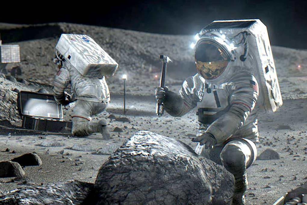 Illustrazione - Le missione Artemis III ha l'obiettivo di riportare l'uomo sulla Luna nel 2024, ma i tempi sembrano molto stretti.