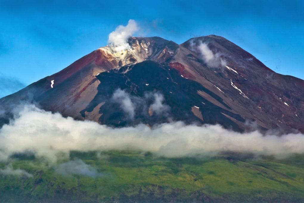 Vulcano isole Aletuine