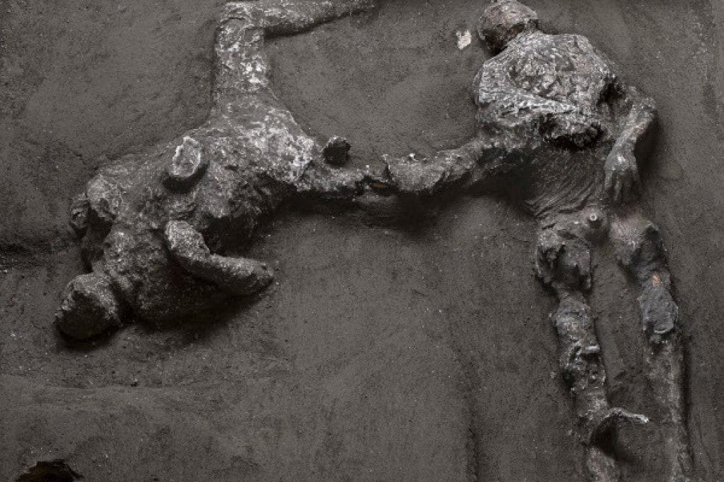 Gli ultimi calchi di Pompei