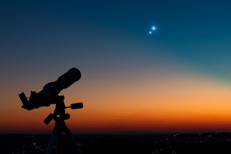 La Congiunzione tra Giove e Saturno