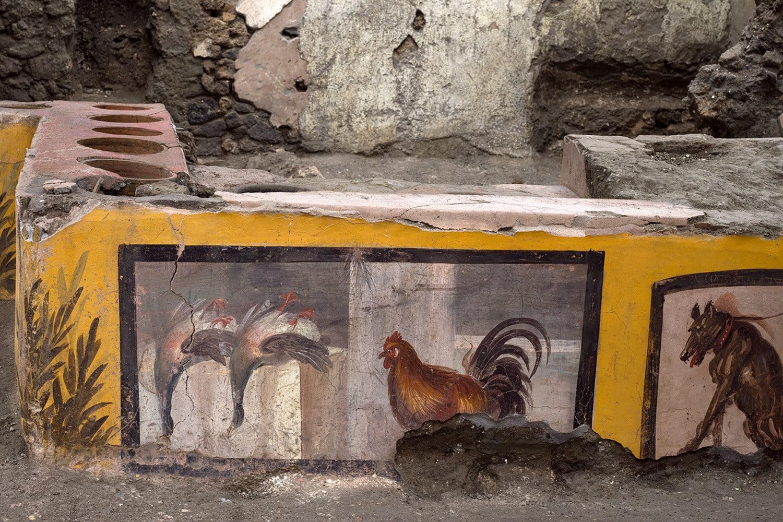 Il termopolio scoperto a Pompei