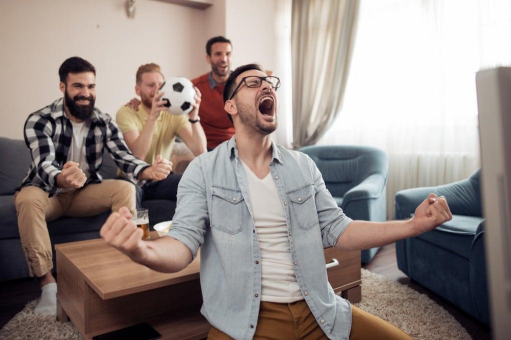 Guardare una partita di calcio è come fare sport?