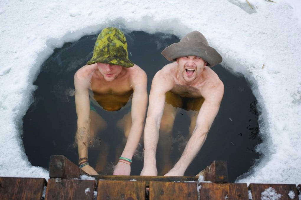 Un bagno di neve