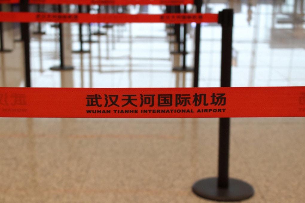 Cina: aeroporto di Wuhan.