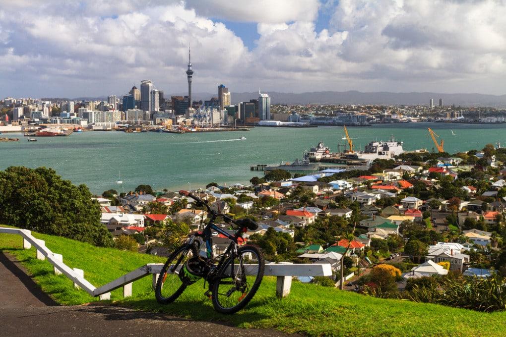 Veduta di Auckland, in Nuova Zelanda.